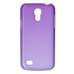 Lavender To Pale Lavender Gradient Samsung Galaxy S4 Mini Hardshell Case