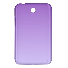 Lavender To Pale Lavender Gradient Samsung Galaxy Tab 3 (7 ) P3200 Hardshell Case