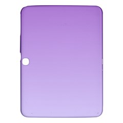 Lavender To Pale Lavender Gradient Samsung Galaxy Tab 3 (10.1 ) P5200 Hardshell Case