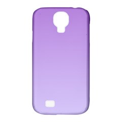 Lavender To Pale Lavender Gradient Samsung Galaxy S4 Classic Hardshell Case (PC+Silicone)