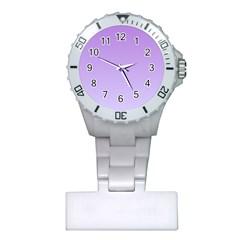 Lavender To Pale Lavender Gradient Nurses Watch