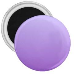Pale Lavender To Lavender Gradient 3  Button Magnet