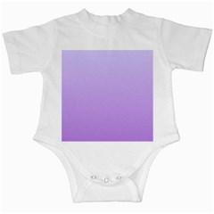 Pale Lavender To Lavender Gradient Infant Creeper
