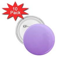 Pale Lavender To Lavender Gradient 1 75  Button (10 Pack)
