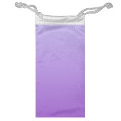 Pale Lavender To Lavender Gradient Jewelry Bag