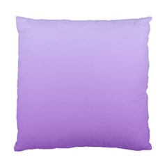 Pale Lavender To Lavender Gradient Cushion Case (One Side)