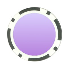 Pale Lavender To Lavender Gradient Poker Chip 10 Pack