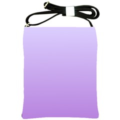 Pale Lavender To Lavender Gradient Shoulder Sling Bag