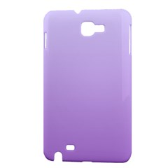 Pale Lavender To Lavender Gradient Samsung Galaxy Note 1 Hardshell Case