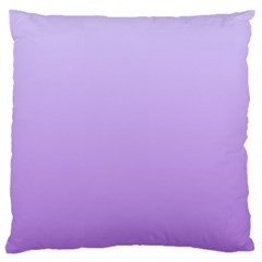 Pale Lavender To Lavender Gradient Large Cushion Case (one Side)