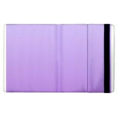 Pale Lavender To Lavender Gradient Apple iPad 3/4 Flip Case