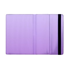 Pale Lavender To Lavender Gradient Apple Ipad Mini Flip Case