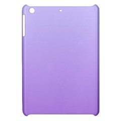 Pale Lavender To Lavender Gradient Apple iPad Mini Hardshell Case