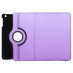 Pale Lavender To Lavender Gradient Apple iPad Mini Flip 360 Case