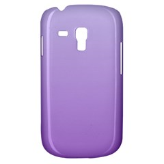 Pale Lavender To Lavender Gradient Samsung Galaxy S3 MINI I8190 Hardshell Case