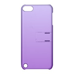 Pale Lavender To Lavender Gradient Apple iPod Touch 5 Hardshell Case with Stand