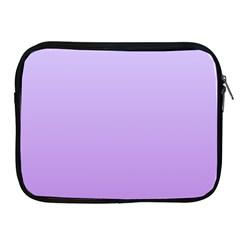 Pale Lavender To Lavender Gradient Apple iPad 2/3/4 Zipper Case