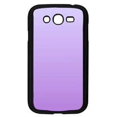 Pale Lavender To Lavender Gradient Samsung I9082(Galaxy Grand DUOS)(Black)
