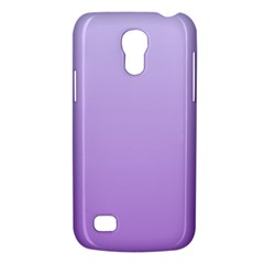 Pale Lavender To Lavender Gradient Samsung Galaxy S4 Mini Hardshell Case