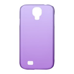 Pale Lavender To Lavender Gradient Samsung Galaxy S4 Classic Hardshell Case (pc+silicone)