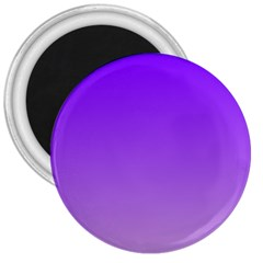 Violet To Wisteria Gradient 3  Button Magnet