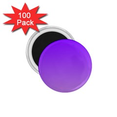 Violet To Wisteria Gradient 1.75  Button Magnet (100 pack)