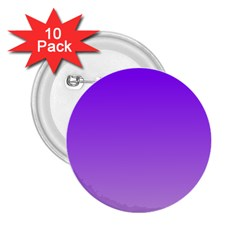 Violet To Wisteria Gradient 2 25  Button (10 Pack)