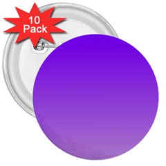 Violet To Wisteria Gradient 3  Button (10 Pack)