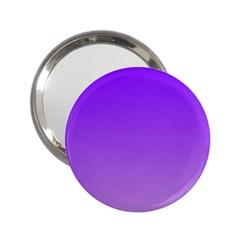 Violet To Wisteria Gradient Handbag Mirror (2.25 )