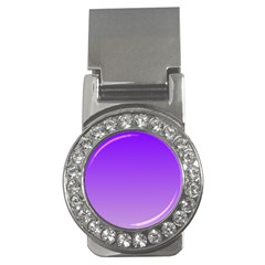 Violet To Wisteria Gradient Money Clip (cz)
