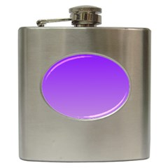Violet To Wisteria Gradient Hip Flask