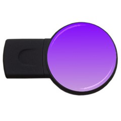 Violet To Wisteria Gradient 2GB USB Flash Drive (Round)
