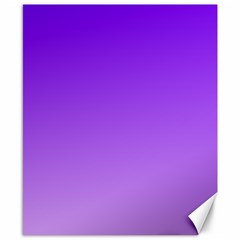 Violet To Wisteria Gradient Canvas 8  X 10  (unframed)