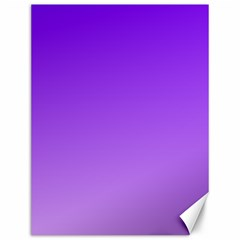 Violet To Wisteria Gradient Canvas 12  X 16  (unframed)