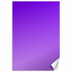 Violet To Wisteria Gradient Canvas 12  X 18  (unframed)