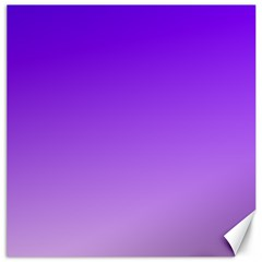 Violet To Wisteria Gradient Canvas 20  x 20  (Unframed)