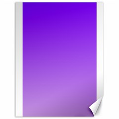 Violet To Wisteria Gradient Canvas 18  x 24  (Unframed)