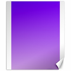 Violet To Wisteria Gradient Canvas 20  x 24  (Unframed)