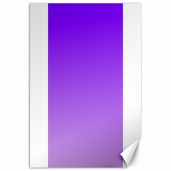 Violet To Wisteria Gradient Canvas 20  x 30  (Unframed)