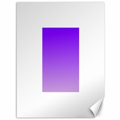 Violet To Wisteria Gradient Canvas 36  x 48  (Unframed)