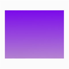Violet To Wisteria Gradient Glasses Cloth (small, Two Sided)