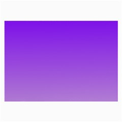 Violet To Wisteria Gradient Glasses Cloth (Large, Two Sided)