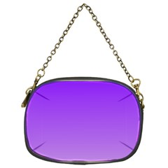 Violet To Wisteria Gradient Chain Purse (one Side)