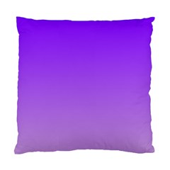 Violet To Wisteria Gradient Cushion Case (One Side)