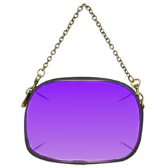 Violet To Wisteria Gradient Chain Purse (Two Side)