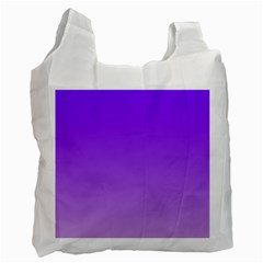 Violet To Wisteria Gradient Recycle Bag (Two Sides)