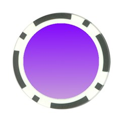 Violet To Wisteria Gradient Poker Chip 10 Pack