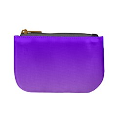 Violet To Wisteria Gradient Coin Change Purse