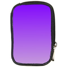 Violet To Wisteria Gradient Compact Camera Leather Case