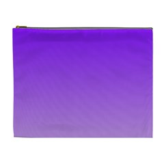 Violet To Wisteria Gradient Cosmetic Bag (XL)